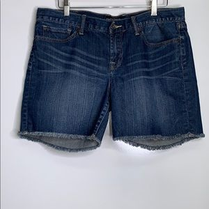 LUCKY BRAND • Abbey Denim Raw Hem Shorts